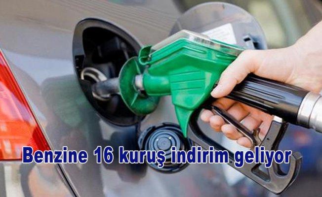 Benzine 16 kuruş indirim geliyor
