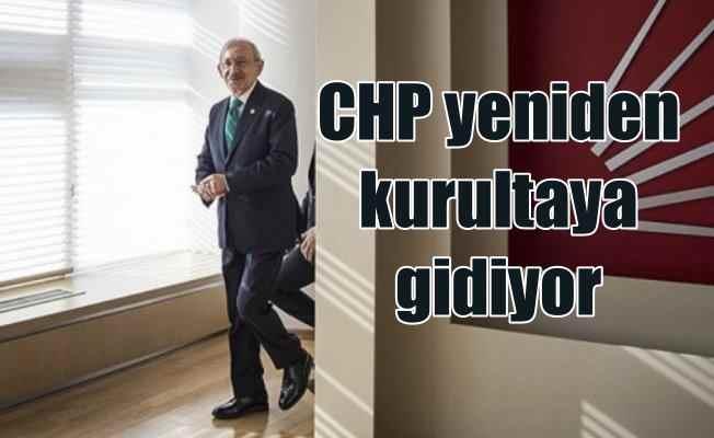 CHP olağanüstü kurultaya gidiyor