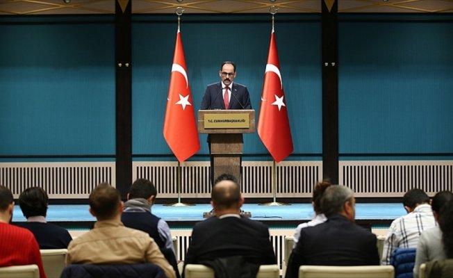Kalın: Vize serbestisi Türkiye-AB ilişkilerine yeni bir ivme kazandıracak