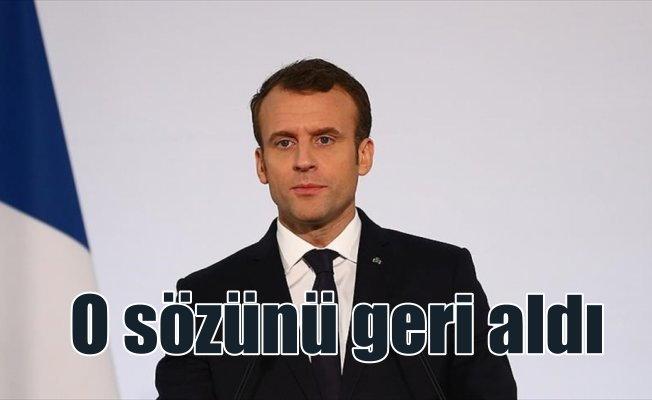 Fransa'dan Türkiye'nin tepkisi üzerine ikinci geri adım