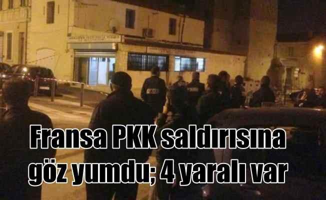 Fransız polisi göz yumdu, PKK yandaşları Türklere saldırdı
