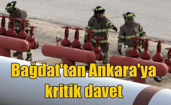 Irak'tan Ankara'ya petrol daveti; Yeni hat için kritik gelişme