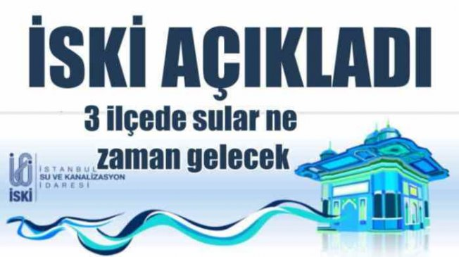 Kadıköy'de su kesintisi; Eyüp'te sular ne zaman gelecek