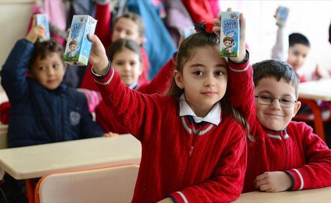 Okullar 'süt'le açılacak