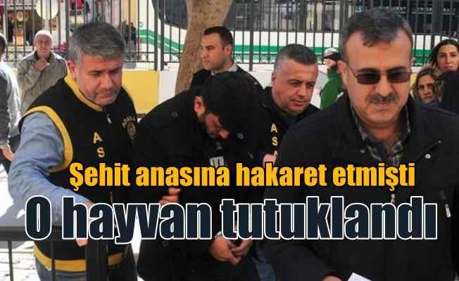Otobüs şoförü 'şehit annesine hakaret'ten tutuklandı