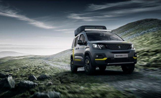 Peugeot RIFTER 4x4 Concept, yenilikçi ürün çözümlerini sunuyor