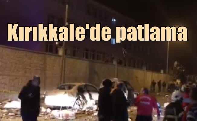 Son Dakika Kırıkkale'de patlama, 5 yaralı var