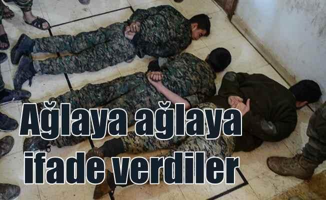 Suriye'de yakalanan PKK'lı teröristlerin üzerinden Amerikan üniformaları çıktı