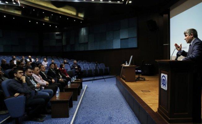 Suriyeli gazeteciler AA'yı ziyaret etti