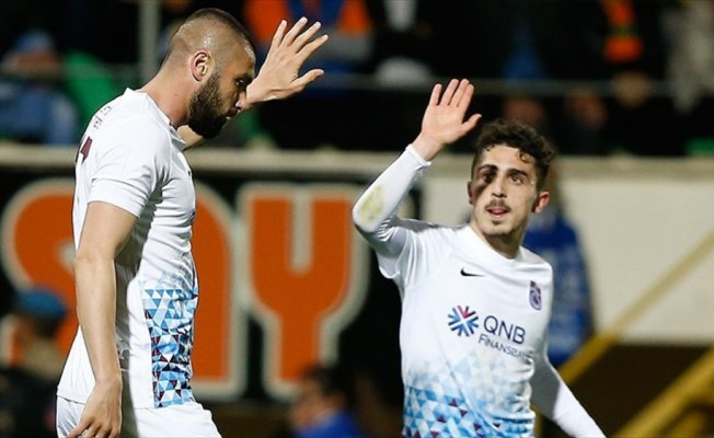Trabzonspor'un golleri 'yerli ve milli' futbolculardan