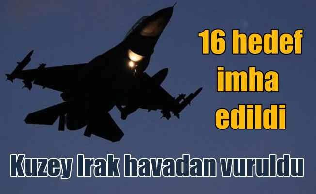 TSK Kandil'i havadan vurdu: 16 hedef imha edildi
