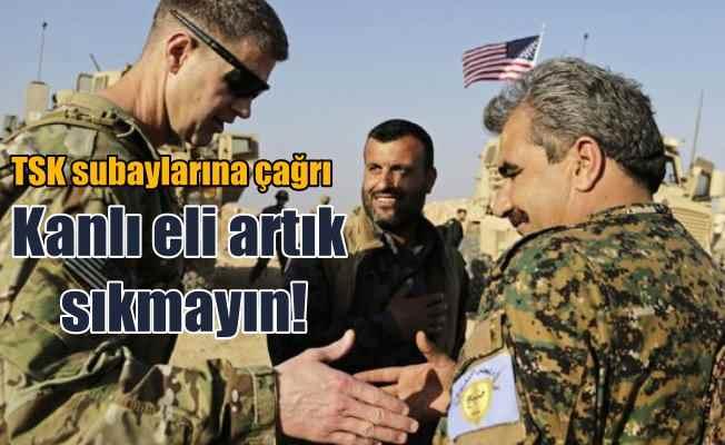 TSK'ya çağrı: Terörislerle tokalaşan ABD subaylarının elini sıkmayın