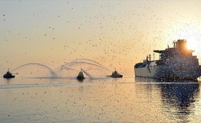 Türkiye'nin ikinci FSRU terminali devreye alındı