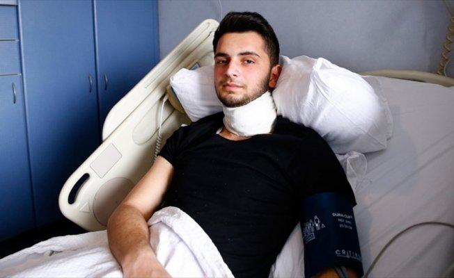 Türkiye'nin ilk 'sinir taşıma' ameliyatıyla sesine kavuştu