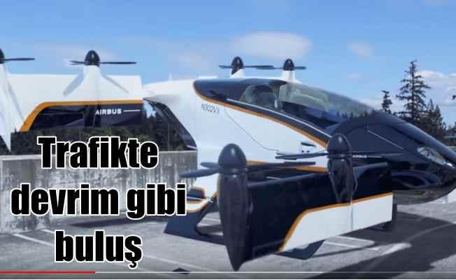 Uçan taksiler geliyor; Hava taksiciliğinde devrim gibi buluş