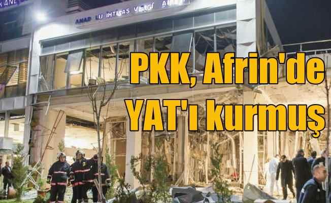 Vergi Dairesi bombacısı PKK'nın kurduğu yeni örgütten gelmiş