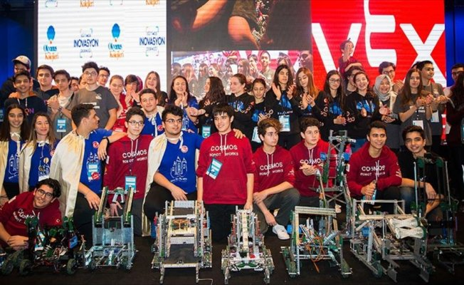 'VEX Robot Turnuvaları Türkiye Şampiyonası' sonuçları belirlendi