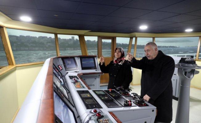 70 yaşında gemi kaptanı oldular