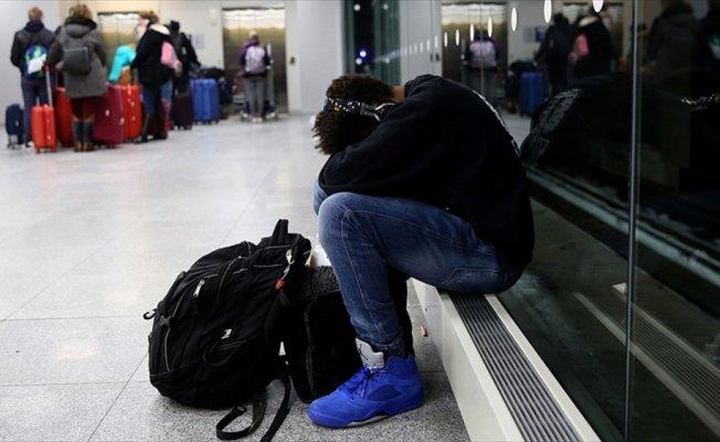 ABD'de fırtına nedeniyle 5 bin 500'den fazla uçuş iptal edildi