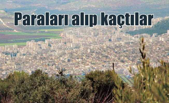 Afrin'in sözde bakanları paraları alıp kaçtılar