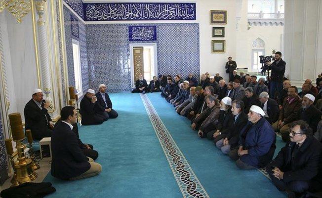 Afrin şehitleri için okunan 66 hatmin duası yapıldı