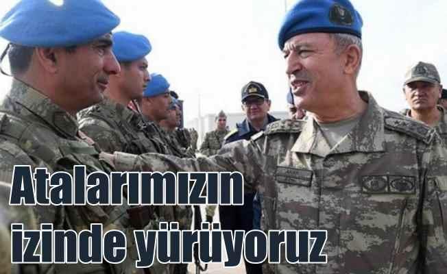 Akar Mehmetçik'e seslendi: Atalarımızın yolunda yürüdünüz