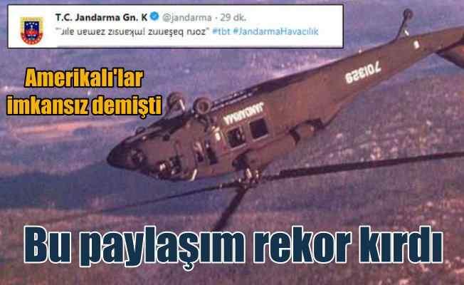 Amerikalılar imkansız demişti, Türk pilot başardı