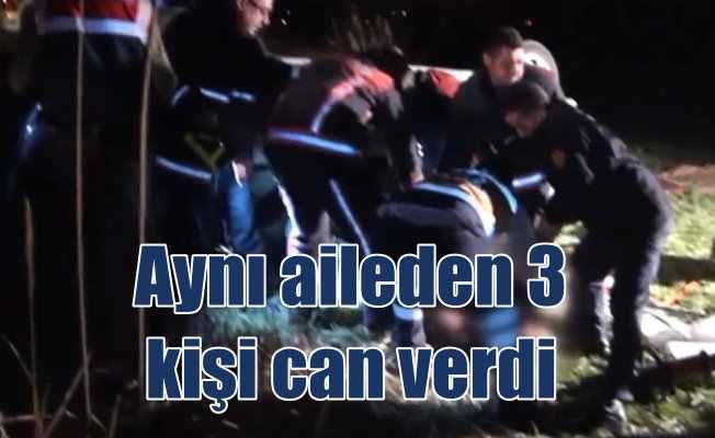 Ankara Çubuk'ta trafik kazası; 3 ölü var