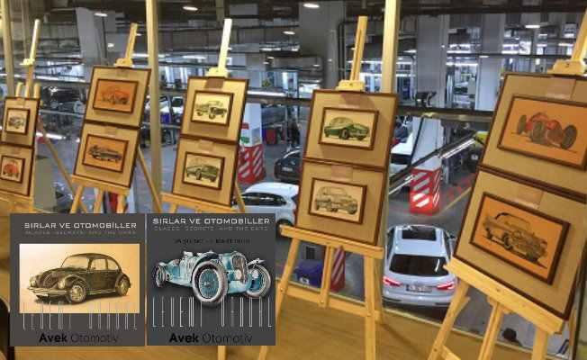 Avek Otomotiv'de otomobil tutkunlarına özel sergi