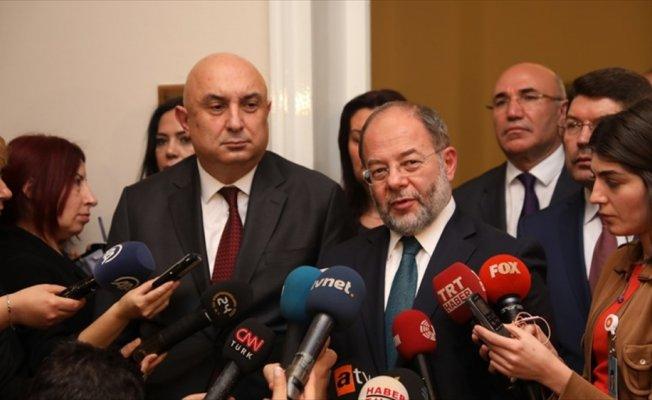Başbakan Yardımcısı Akdağ CHP Grubu'nu ziyaret etti