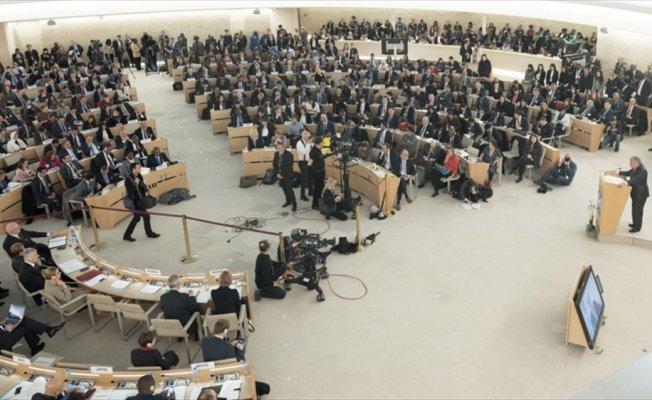 BM'de Esed rejimini 'şiddetle' kınayan tasarı kabul edildi