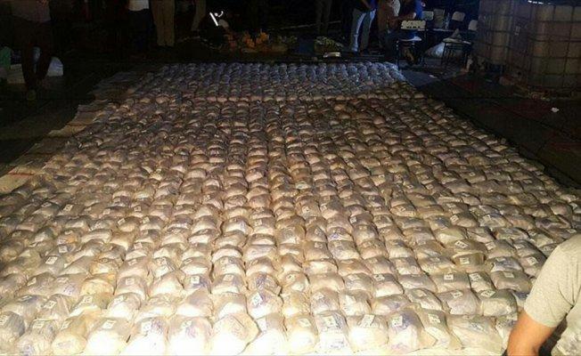 Brezilya'da 1,3 ton kokain ele geçirildi