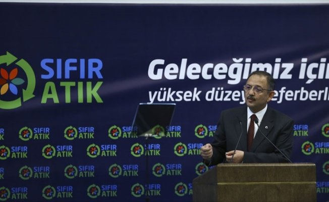 Çevre ve Şehircilik Bakanı Özhaseki: Hiçbir belediyemiz sıfır atık konusunda ne yapacağını bilmiyor