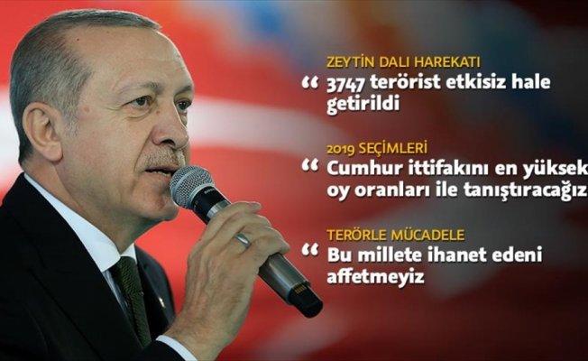 Cumhurbaşkanı Erdoğan: Cumhur ittifakını en yüksek oy oranları ile tanıştıracağız