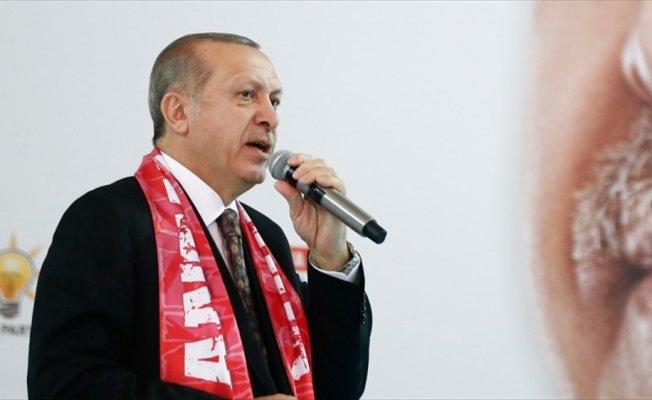 Erdoğan: İnsanların inancından dolayı horlandığı günler geride kaldı