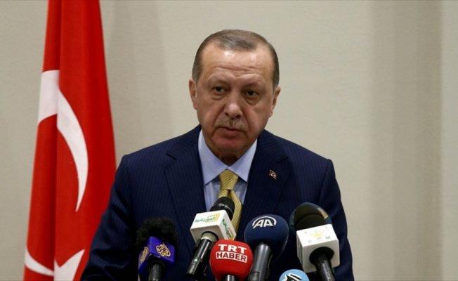 Erdoğan: Kudüs konusunda durduğumuz yerden asla taviz vermeyeceğiz