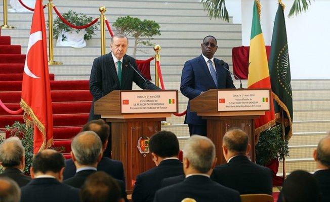 Cumhurbaşkanı Erdoğan: Senegal'de FETÖ okullarının kapatılması çok çok önemli