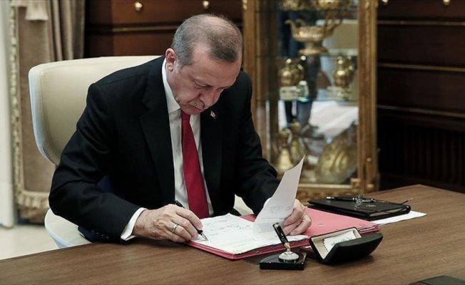 Cumhurbaşkanı Erdoğan'dan 4 kanuna onay