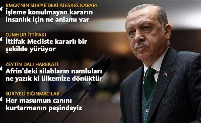 Cumhurbaşkanı Erdoğan'dan BMGK'ya: Batsın sizin kararınız
