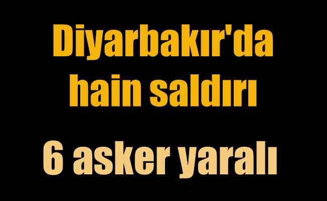 Diyarbakır Hazro'da hain saldırı; Yaralılar var