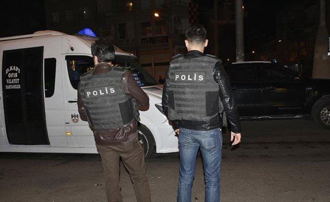 Diyarbakır'da hava destekli asayiş uygulaması yapıldı