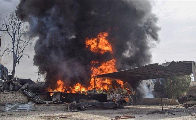 Doğu Guta'da katliam sürüyor: 37 sivil yanarak can verdi