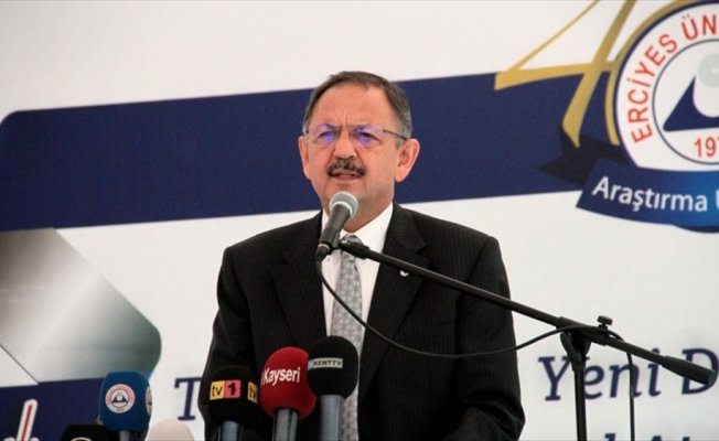 'Dünyanın en büyük 10 projesinden 6'sı Türkiye'de yapılıyor'