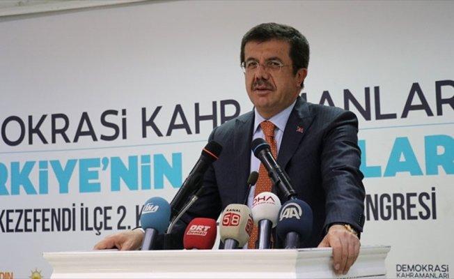 Ekonomi Bakanı Zeybekci: Bu milleti tehdit edenlerin tepesine çökeceğiz