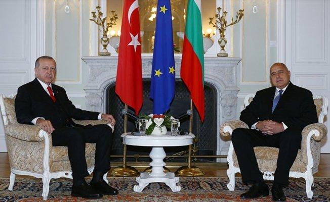 Erdoğan, Bulgaristan Başbakanı Borisov'u kabul etti