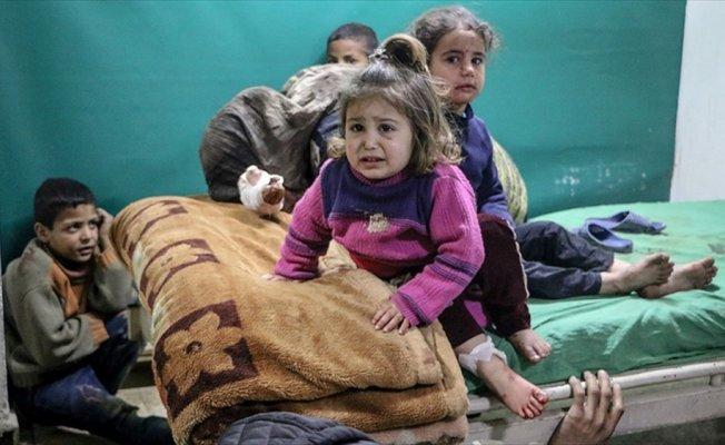 Esed rejimi ve destekçileri Doğu Guta'da 28 sivili öldürdü