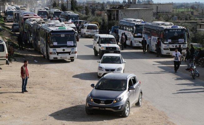 Esat'ın kuşattığı Kadem'den bin 55 sivil tahliye edildi