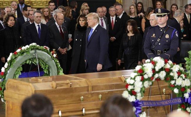 Evanjelik lider Graham için cenaze töreni düzenlendi