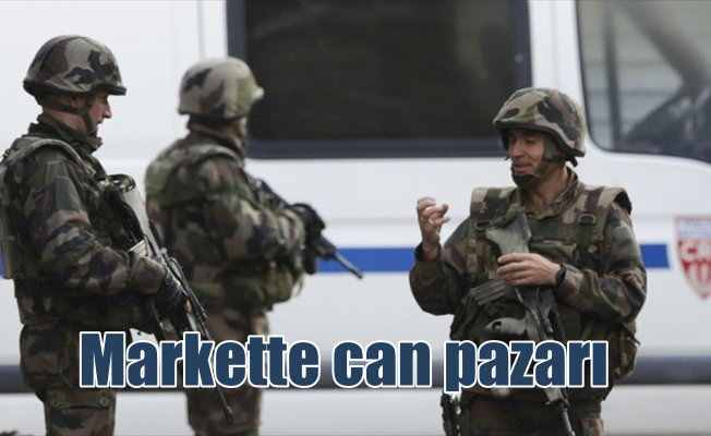 Fransa'da rehine operasyonu