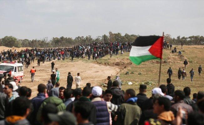'Gazze sınırındaki gösteriler devam edecek'